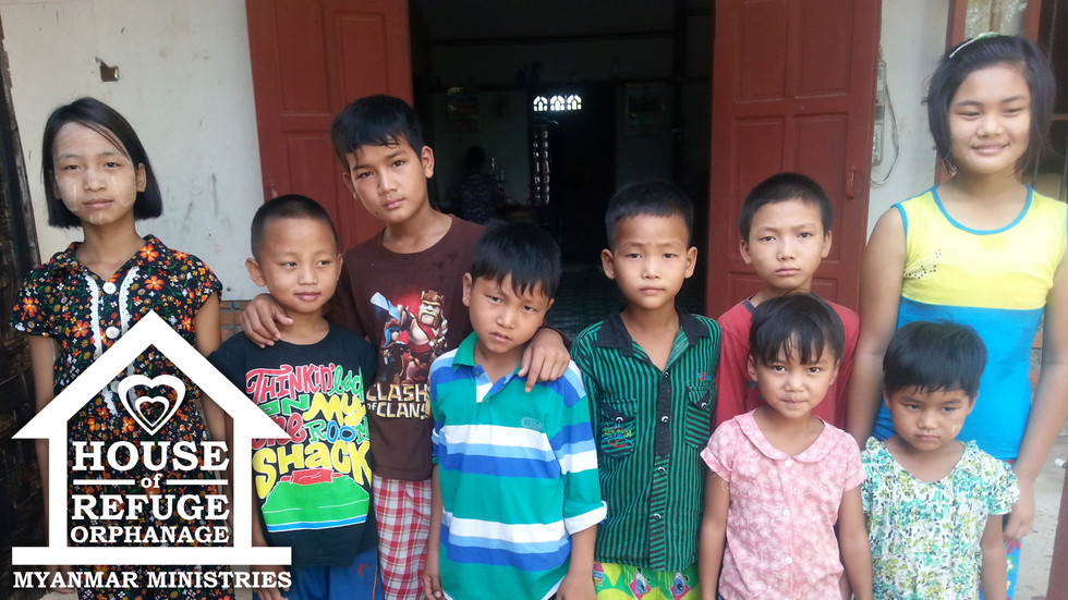 Nine New Orphans In Myanmar