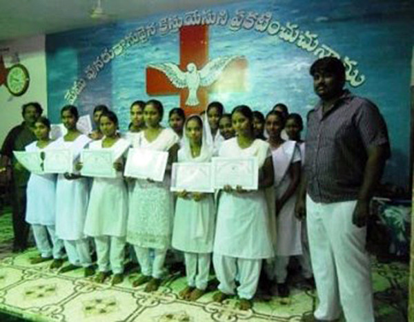 28 Rescued Teen Girls Complete Medical Training & Bible College
