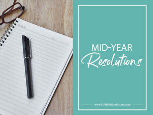 Mid-Year Resolutions
