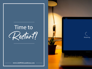 Time to Restart!