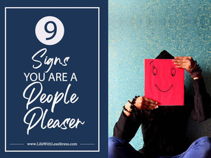 7 Signs you are a People Pleaser