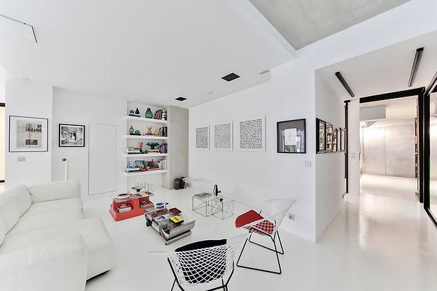 Diseñado sala de estar