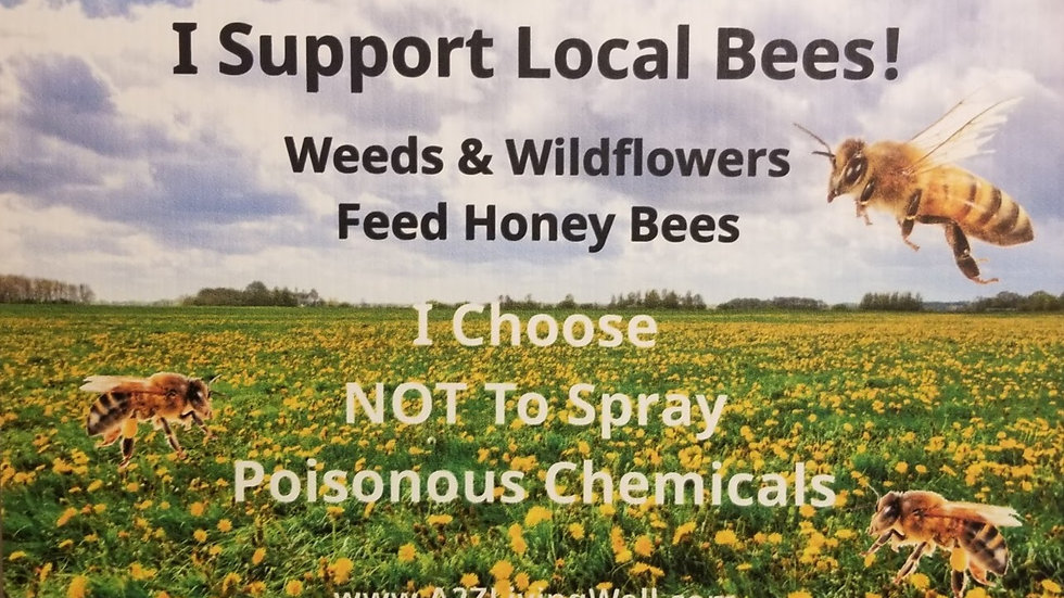 Save the BEES! Yard Sign