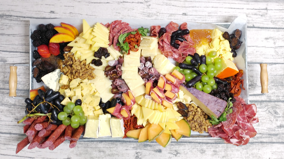 Chef Cat's Famous Cheese & Charcuterie Board