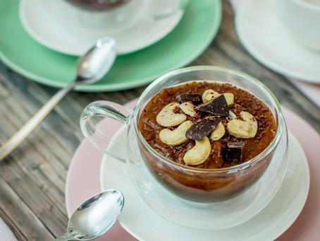 Gluten Free Breakfast - Salted Caramel Chia Pudding