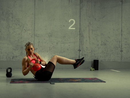 Full Body Workout 15 Minutes HIIT with Kettlebell