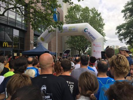 My first 5 km run in Berlin - Groupius Lauf