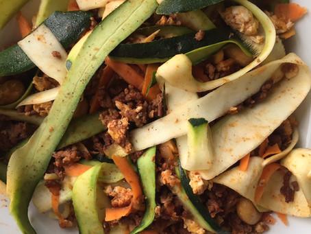 30 minutes quick Thai Bolognese favourite recipe