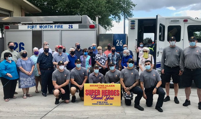 Fort Worth Fire Dept. Heroes