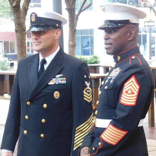NAS-Fort Worth JRB dignitaries