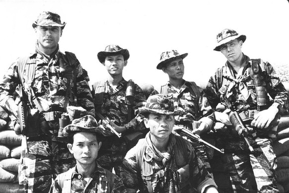ARVN & U.S. Special Forces