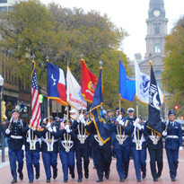 Fort Worth ISD Color Guard