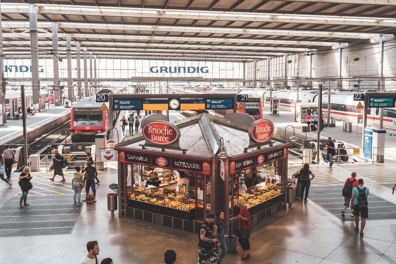Munich Main Train Station