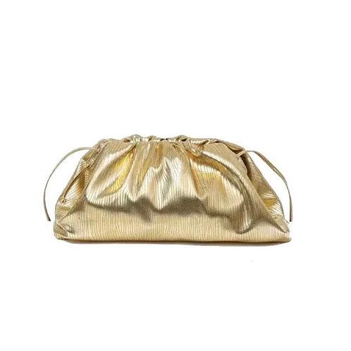 MAYFAIR POUCH BAG - GOLD