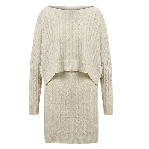 KNITTED MINI CO-ORD
