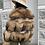 Thumbnail: REMI RACOON FUR COAT - MEDIUM