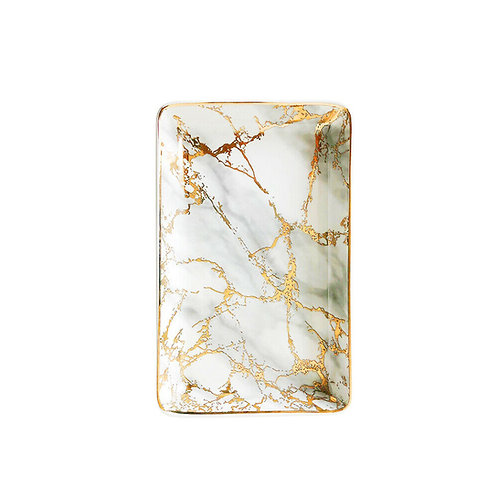 LARGE MARBLE EFFECT TRAY