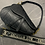 Thumbnail: BLACK LEATHER SADDLE BAG
