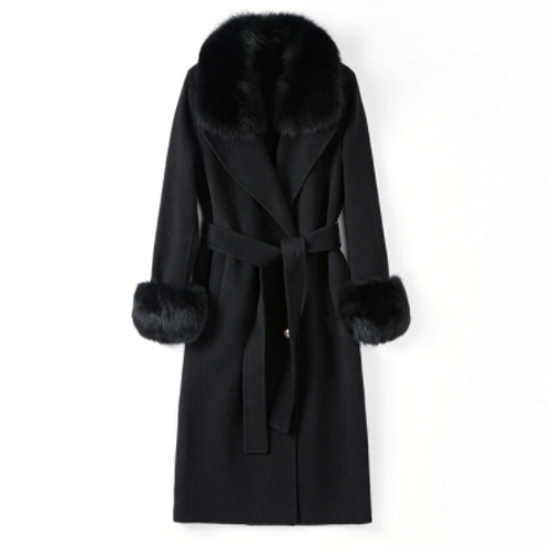 AVA FURWATERFALL COAT