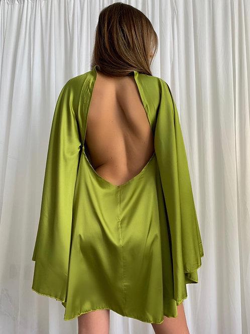 KLARA BACKLESS SWING DRESS