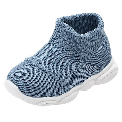 INFANT SOCK TRAINERS - BLUE