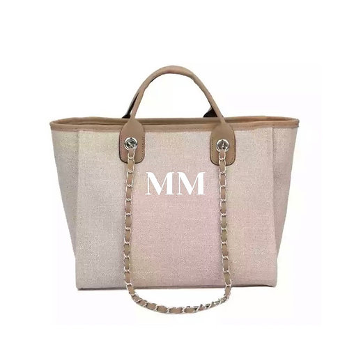 PERSONALISED SHOPPER TOTE - CAMEL