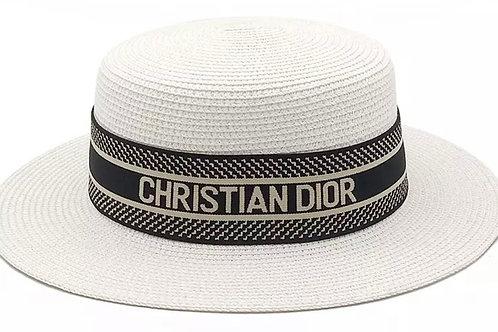 CHRISSY STRAW BEACH HAT