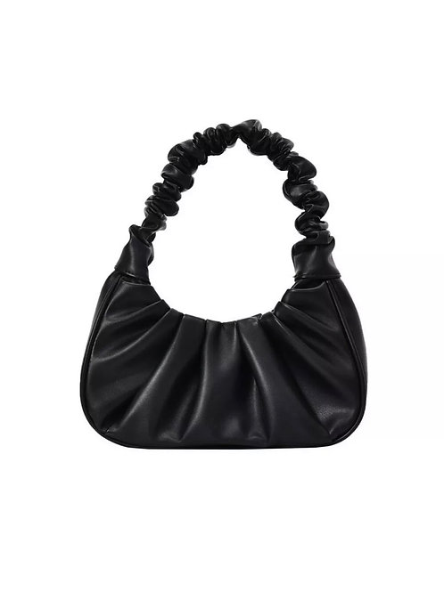 SCRUNCH HANDLE SHOULDER BAG