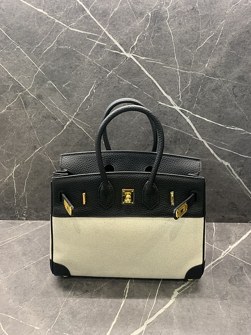 LUXE LEATHER TOTE - SMALL