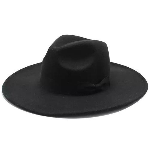 ISABEL WIDE BRIM FEDORA HAT
