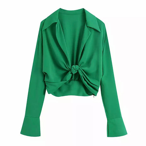 CLEO KNOT BLOUSE