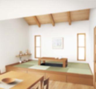畳が丘、畳、置き型畳