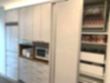 キッチン、食器棚、カップボード
