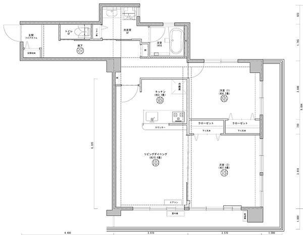 最終平面図 DAR綱島マンション・305号室_000001.jpg