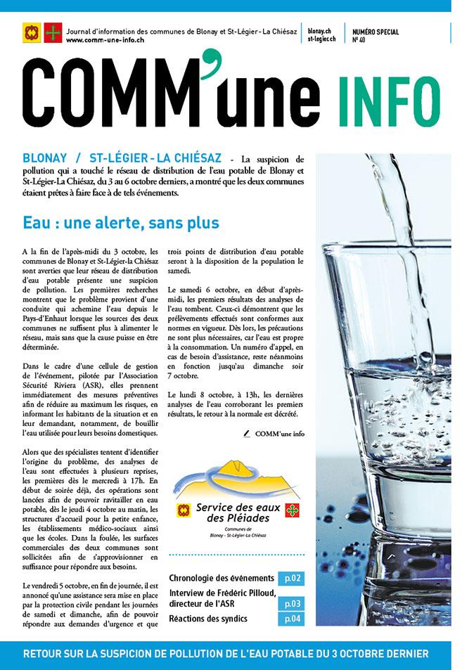 Comm-une-info, Blonay, St-Légier