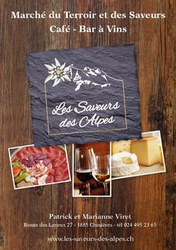Les saveurs des Alpes, nectardesign
