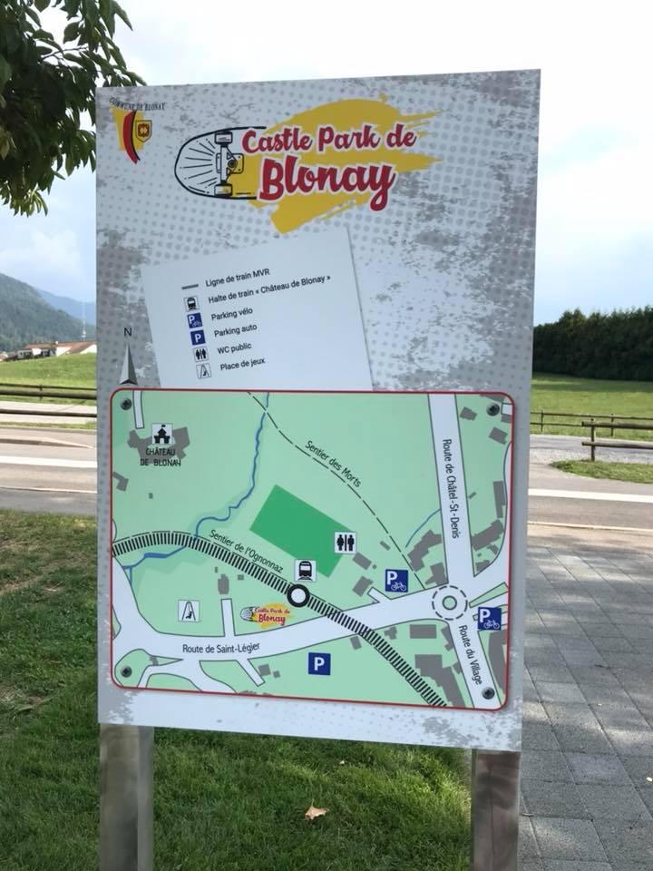 Blonay Castel Park