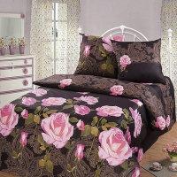 Чайная роза ( двухспальный , перкаль )