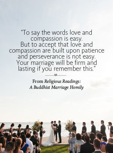 Beautiful readings for your ceremony