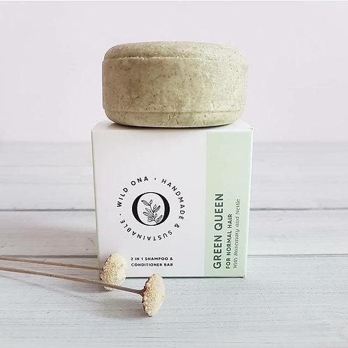 GREEN QUEEN - Shampoo & Conditioner Bar