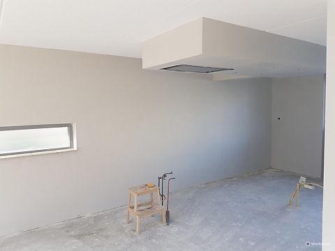 Stucen muuren woonkamer slaapkamer keuke