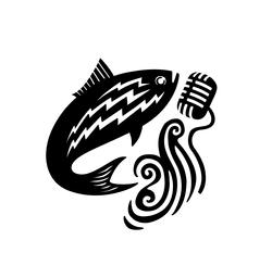 Shad Ladder Radio Hour Logo
