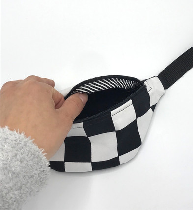 Checkered Fannypack