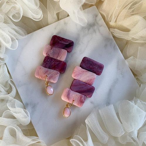 Sade with Pink Opal