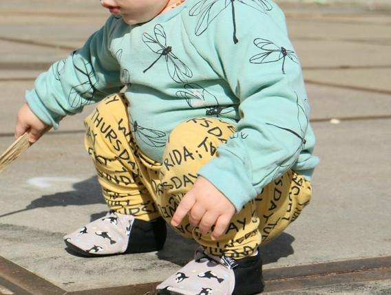Antislip Orca Babyshoes