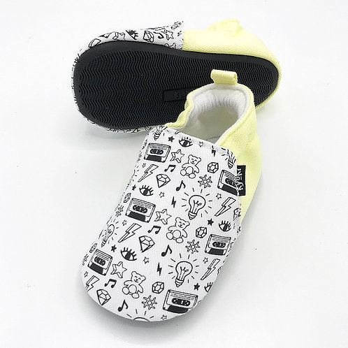 copy of The One With The Doodles and Anti-Slip Rubber Sole