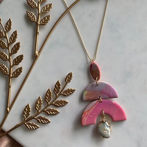 Pink Perla Kyoki Necklace