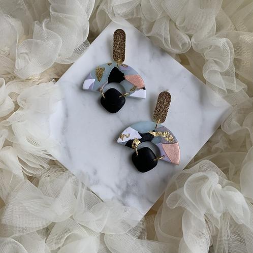 Clea~ Modern Drop Earring