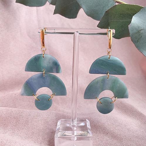 Eloise in marbled jade