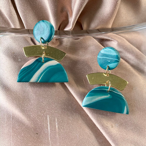 Dune Dangle in Lucious Turquoise